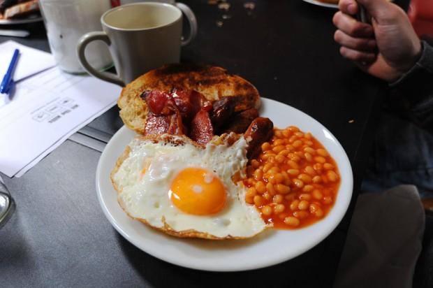 breakfast for mountain bikers