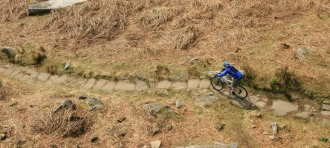 Mountain biking in the Peak DIstrict